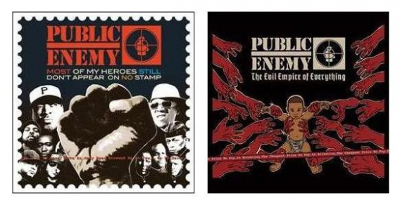 "PUBLIC ENEMY // ""Most of my heroes still don't appear on no stamp"" & ""The evil empire of everything"" (Enemy Records / Spitdigital, 2012)"